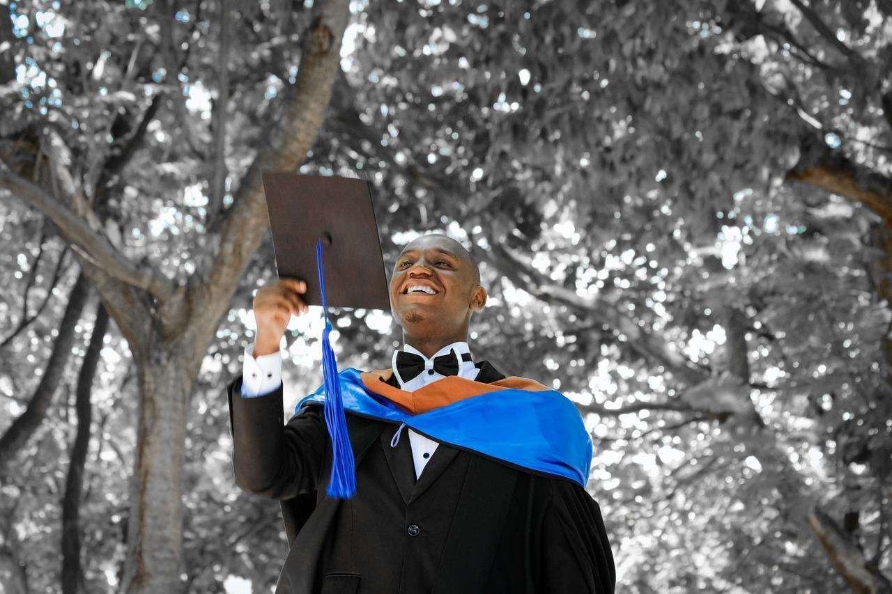 senior graduating